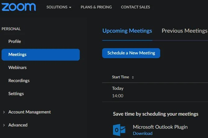 Увеличить расписание встреч