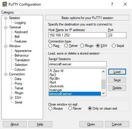 Удаленный доступ к Linux из Windows с помощью SSH