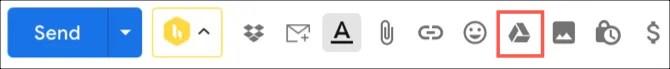 Диск Google в Gmail