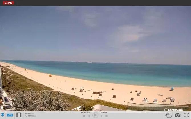 Майами Бич Live Cam