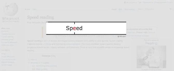 قراءة سرعة القارئ مع جوجل كروم