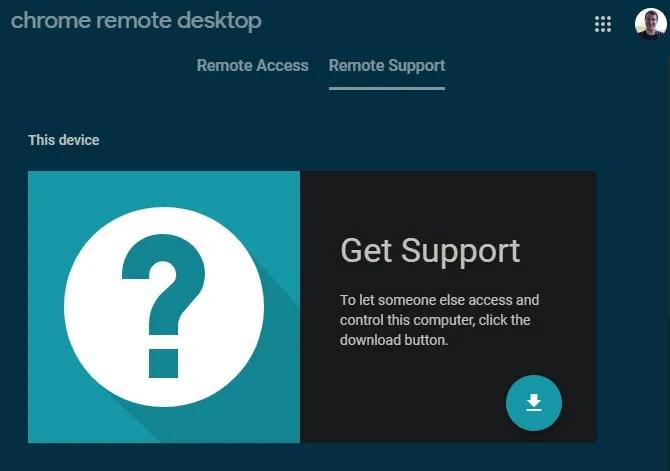 Удаленный рабочий стол Chrome Получить помощь
