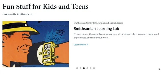 Smithsonian for Kids and Teens