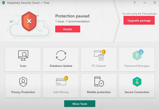 kaspersky security cloud internet security