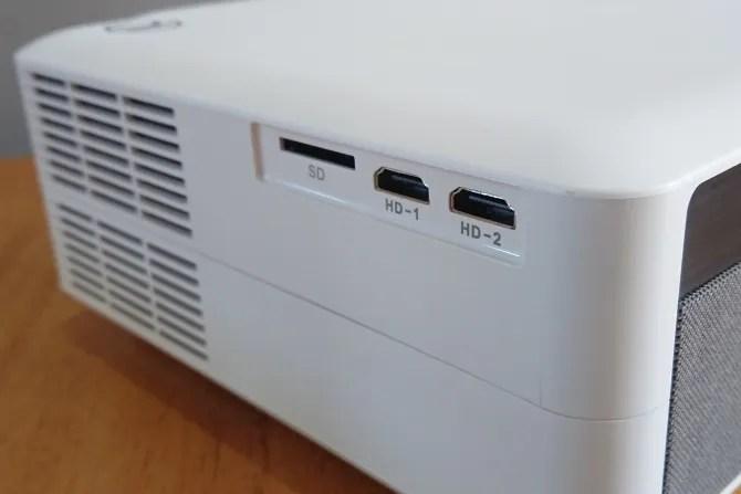 منفذي HDMI على Vankyo V630