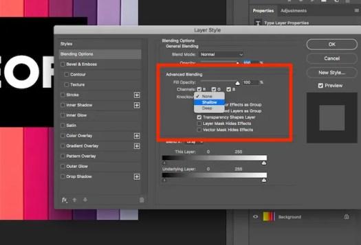 blending options photoshop
