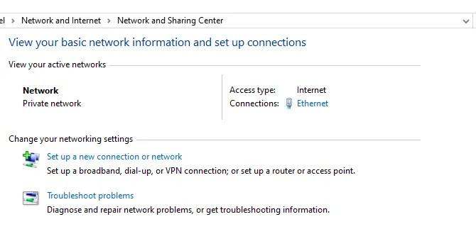 сеть и центр обмена окнами