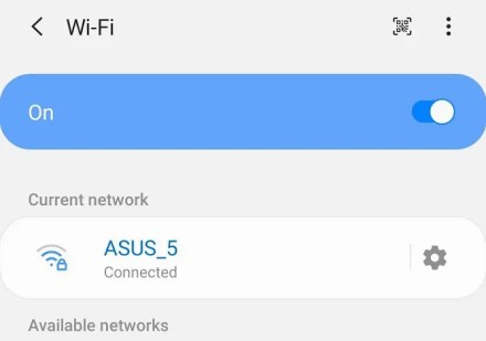 wi-fi settings samsung android