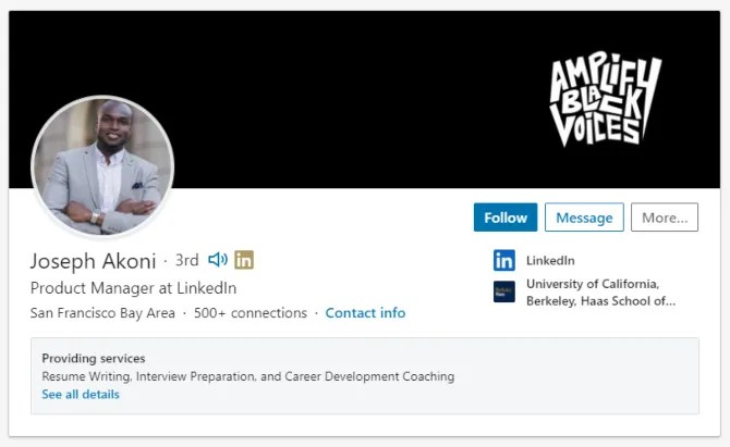 LinkedIn произносить имя