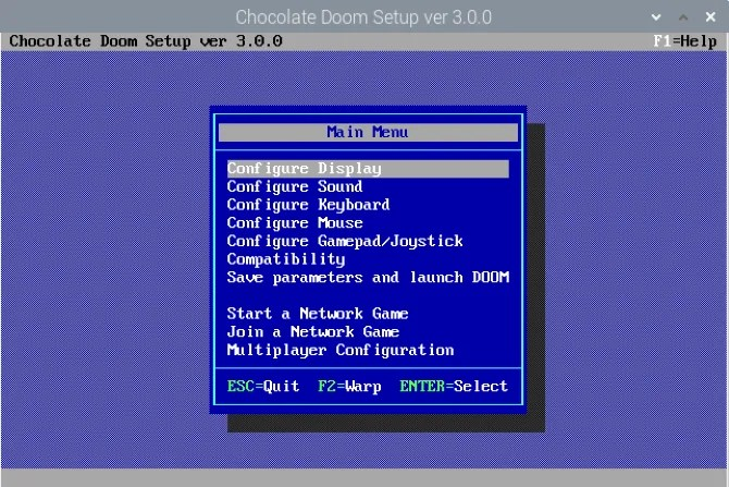 Настройте Doom на Raspberry Pi
