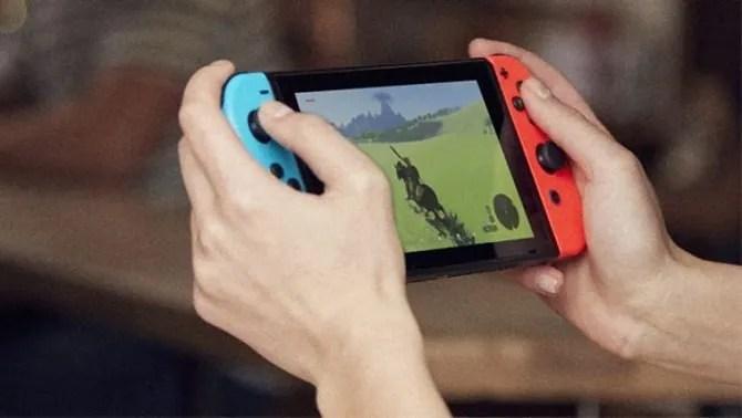 Nintendo Switch ручной режим