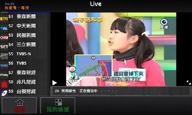 5ikTV Roku channel
