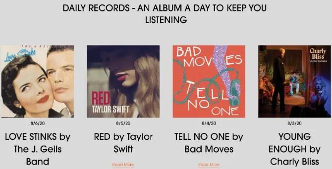 Auditory Musings рекомендует каждый день слушать новый альбом