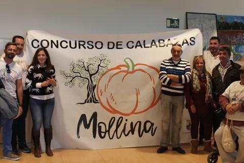La Diputación colaborará con el III Concurso de Calabazas Gigantes de Mollina