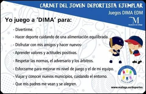 Carnet Joven Deportista Ejemplar