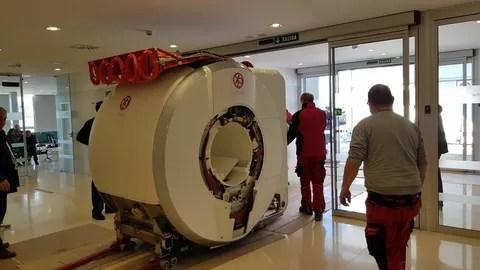 Nuevo equipo de resonancia magnética Hospital del Guadalhorce 300118