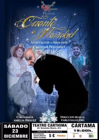 Cartel teatro Cuento de Navidad 231217