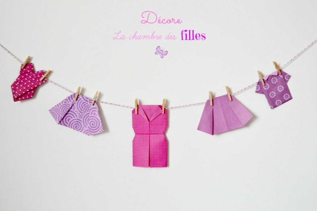 Guirlande Origami Chambre Bebe