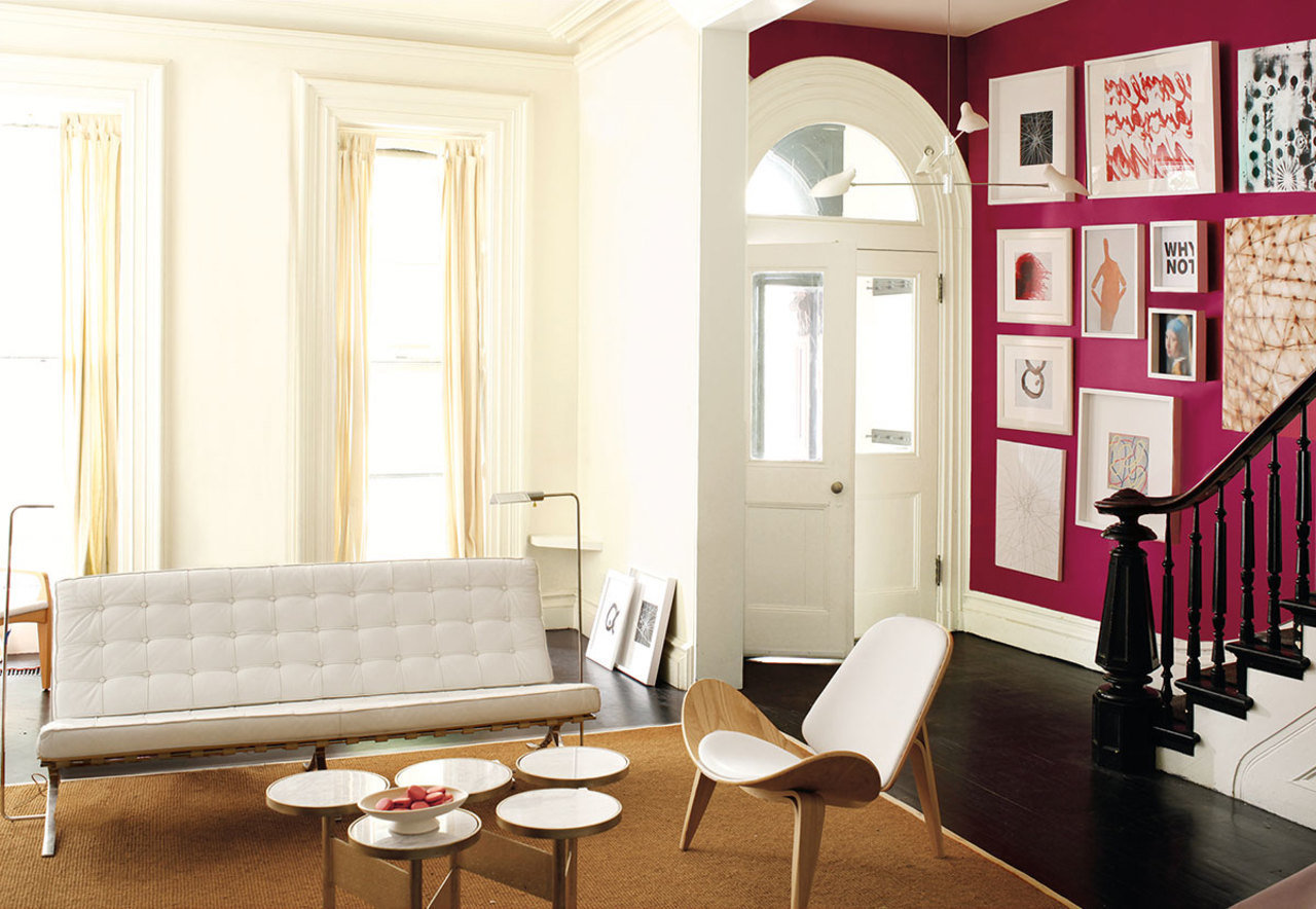 Be What Room White Color Room If Painted And Corridor Sitting Can Painted