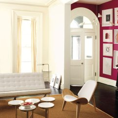 Painting Walls Different Colors Living Room Formal How To Paint A With More Than One Color Mansion Global Vibrant Entry Hall Offsets Clean Lined