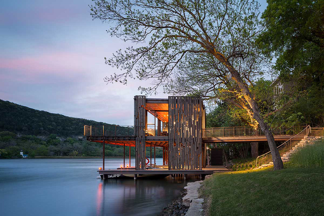 Bunny Run Boat Dock by Andersson Wise Architects