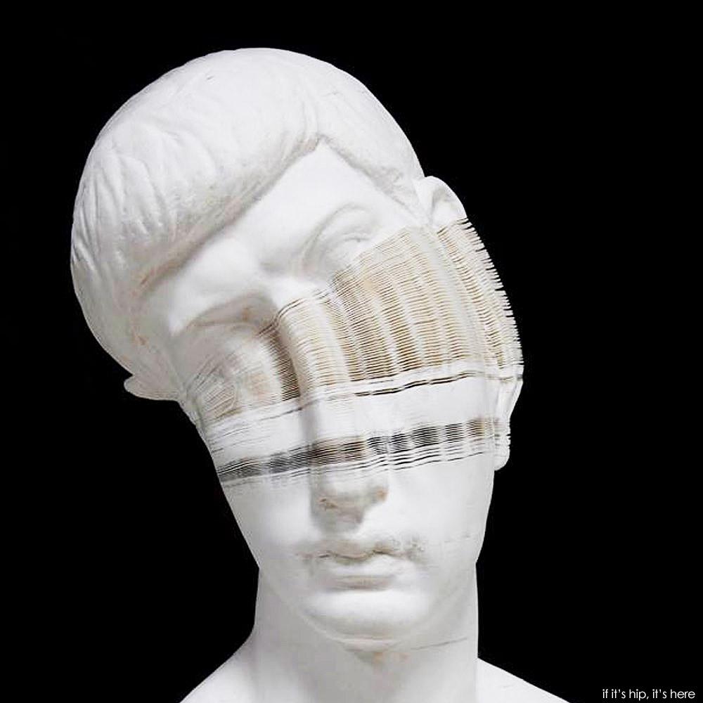 Compressed Paper Sculptures By Li Hongbo