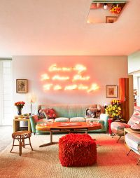 Daring Home Decor: Neon Lights For Every Room