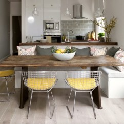 Kitchen Banquettes Cool Tables Dining In Comfort With