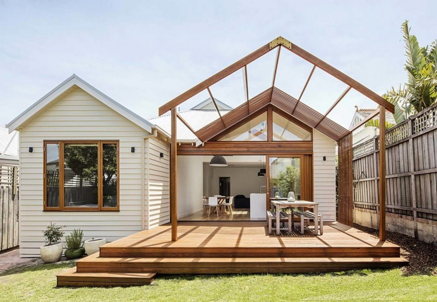 Edwardian Weatherboard House Renovated By Sheri Haby