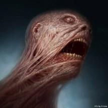 Gorgeously Grotesque Horror Art Dennis Carlsson