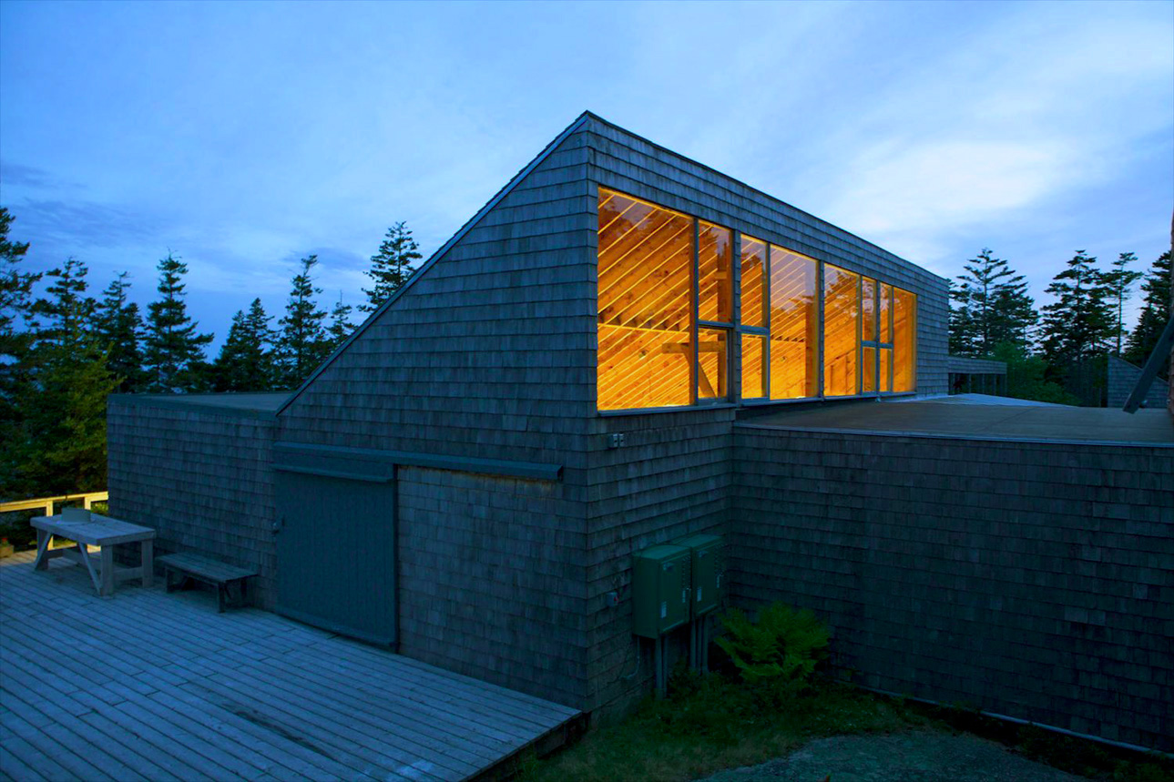 Haystack Mountain School of Crafts by Edward Larrabee Barnes