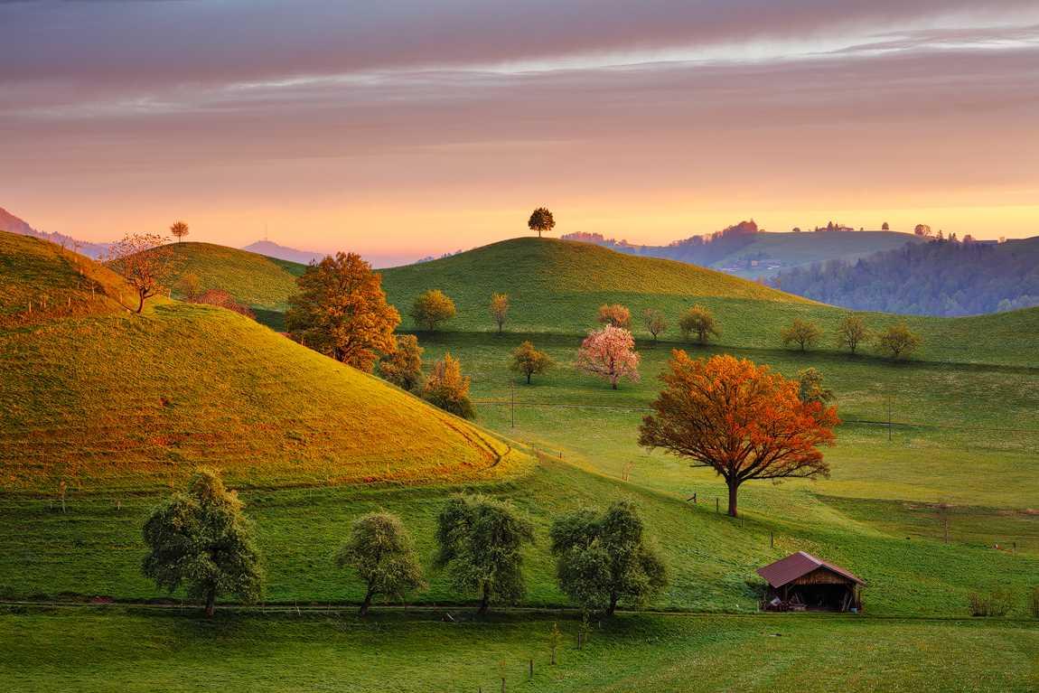 Hobbiton Beautiful Swiss Countryside by Martin Rak
