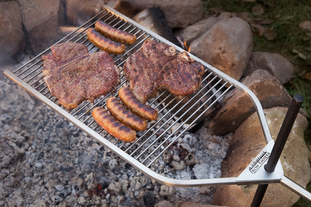 Iron Embers Grill Open Fire Cooking Refined