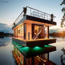 Rev House Custom Eco-friendly Floating Paradises
