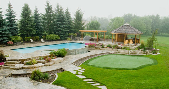 swimming pool landscaping design