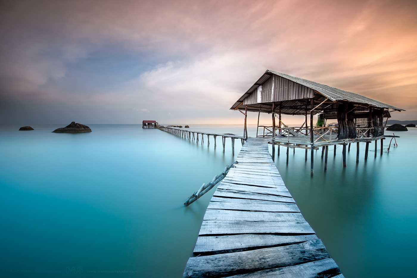 Tranquility at Sea Minimalist Seascape Photography by