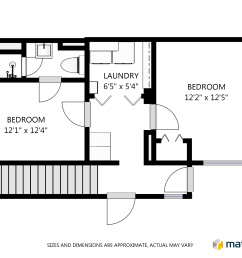 create schematic floor plans online right from your matterportschematic floor plan floor 1 [ 2730 x 2048 Pixel ]