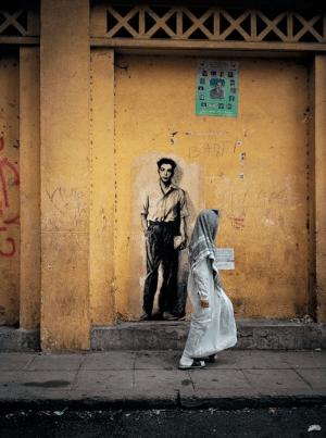 Parcours Maurice Audin, Alger 2003 © Ernest Pignon Ernest