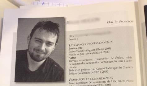 Laurent Obertone dans le trombinoscope de l'ESJ