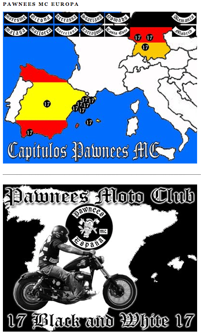 Site web de Pawnees MC.