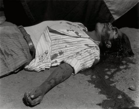 ouvrier gréviste assassiné