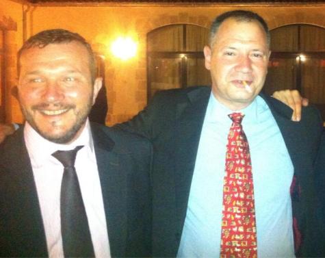Robert Ottaviani et Christophe Pacotte en septembre 2013.