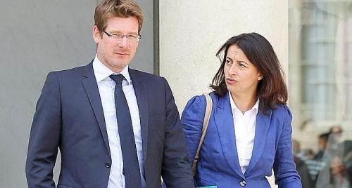 Cécile Duflot et Pascal Canfin, ministres écolos