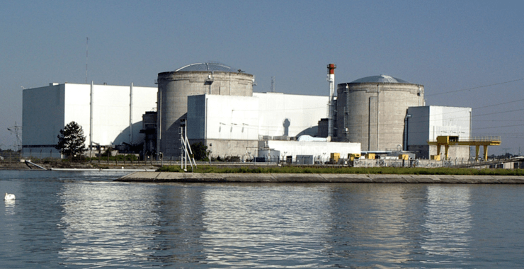La centrale nucléaire de Fessenheim, en Alsace (Wikicommons).