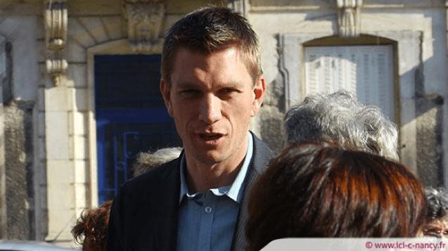 Mathieu Klein, candidat PS à Nancy