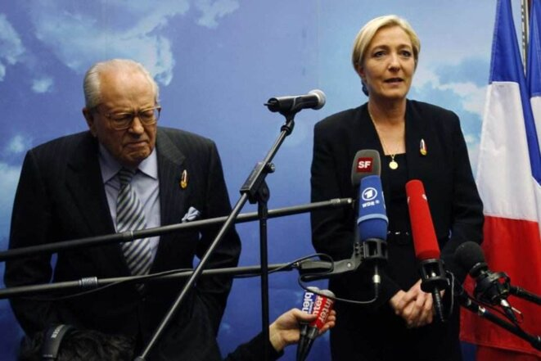 Le Pen père et fille