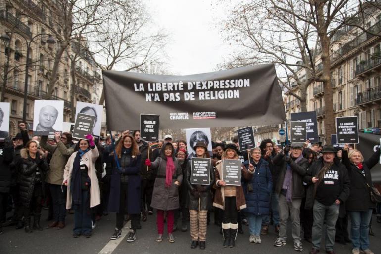 Le 11 janvier 2015 à Paris.