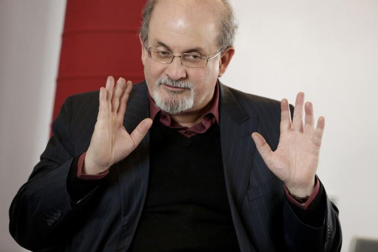 Salman Rushdie en 2012.