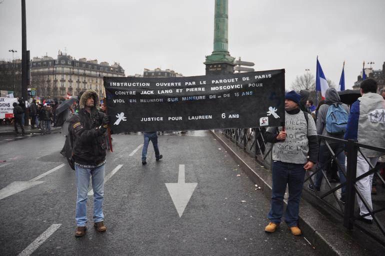 Place de la Bastille, dimanche.