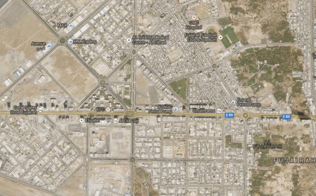 La ville de Fujairah
